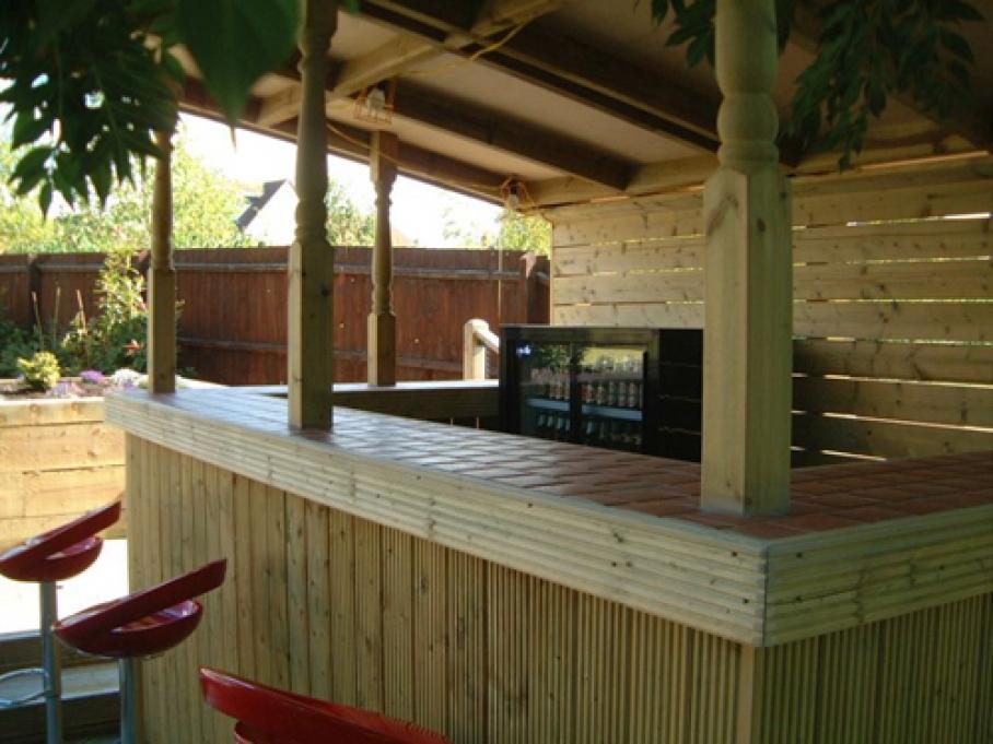 Outside bar area scm property maintenance for Home bar area